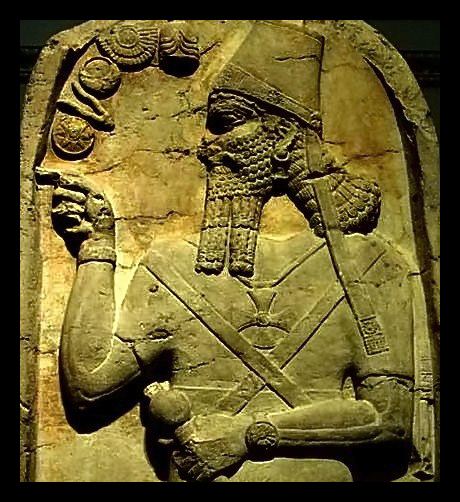 King Ninurta  around 1180 BC Assyria_filtered