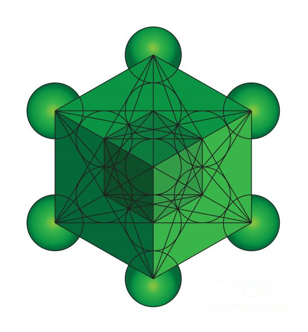 metatrons-cube-in-green-steven-dunn